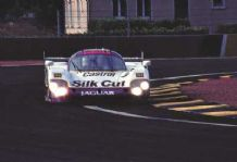 "Jaguar XJR12LM Lammers/Wallace/Konrad 1990 Le Mans. 10x7"" photo"